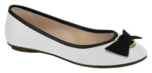 Moleca 5291.635 Women Fashion Flats in White