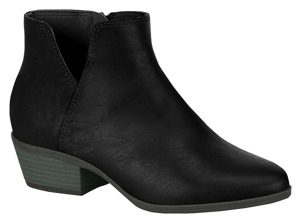 Women Fashion Comfortable Ankle Boot in Low Heel Black Beira Rio 5326.105