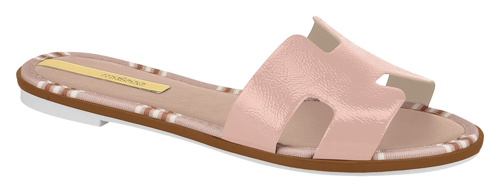 Moleca 5433.308 Women Flat Fashion Slipper in Painted Pink