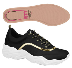 Moleca 5677.100 Women Fashion Sneaker in Black