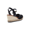 Moleca 5681.100 Women Wedge Sandal in Black