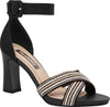 Piccadilly 614004-956 Women Fashion Comfortable Sandal Black
