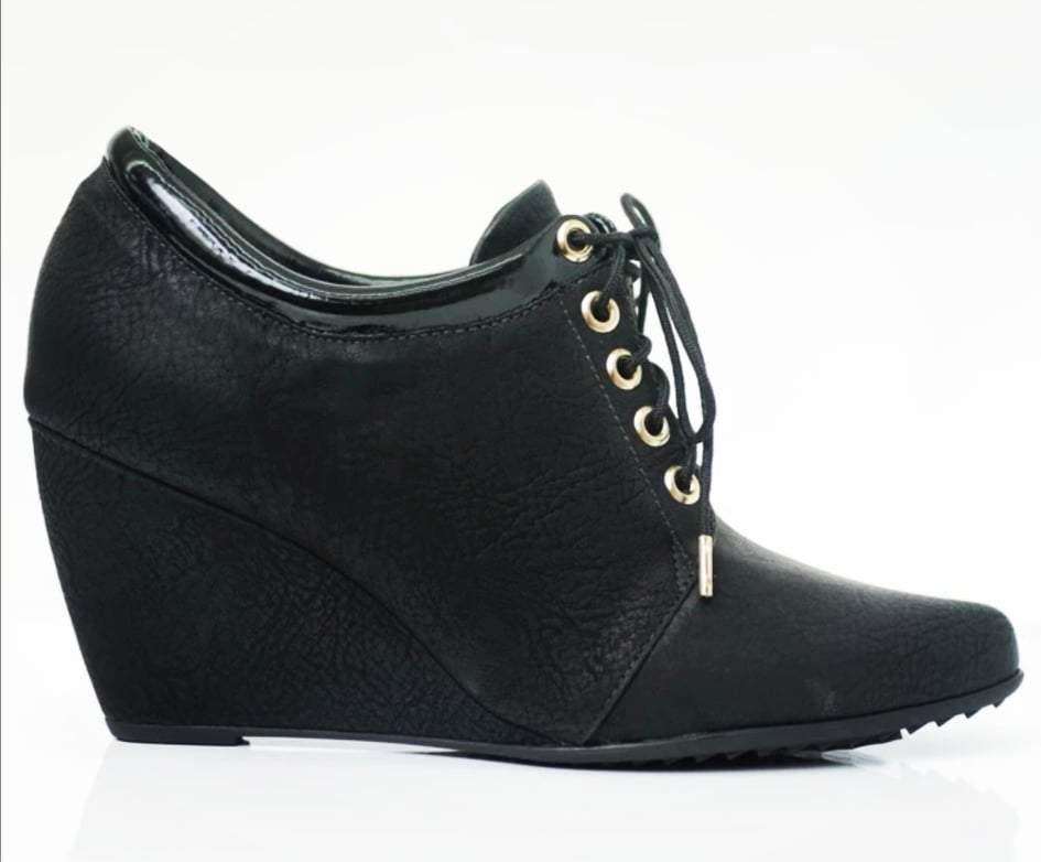 Piccadilly 315050-144 Women Ankle Boot Wedge Black