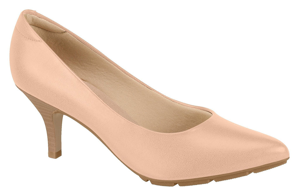 Beira Rio 7013.500-1248 Women Fashion Business Classic Scarpin Shoes in Nude