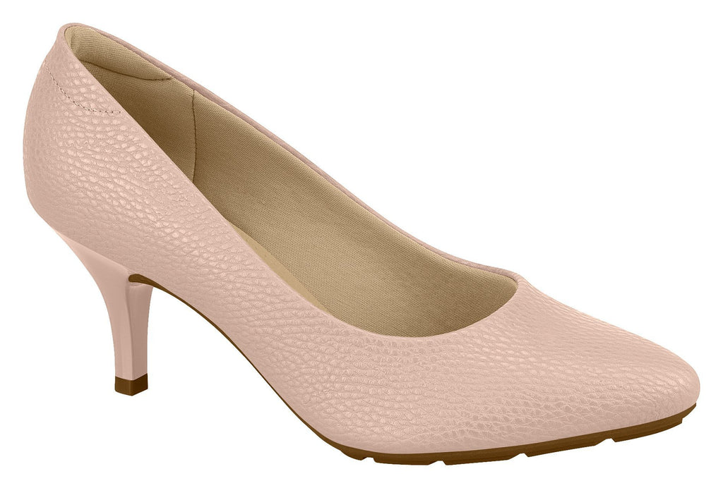 Modare 7013.600 Women Fashion Comfortable Business Shoe Mid Heel in Pink