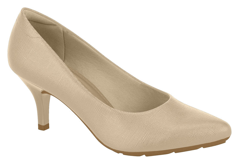 Beira Rio 7013.600 Women Fashion Business Classic Scarpin Shoes in Nude