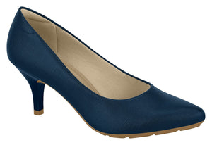 Beira Rio 7013.600 Women Fashion Business Classic Scarpin Shoes in Navy