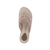 Modare 7023.325 Women Wedge Fashion Slipper in Pink Gold Nude