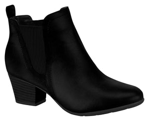 Modare 7046.110 Women Fashion Chelsey Ankle Boot in Black