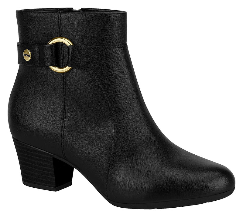 Modare 7046.116 Women Fashion Comfortable Innersole Ankle Boot in Black