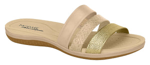 Modare 7125.100 Women Fashion Slipper in Multi Beige