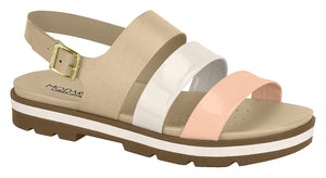 Modare 7132.110 Women Fashion Sandal in Peach Cream