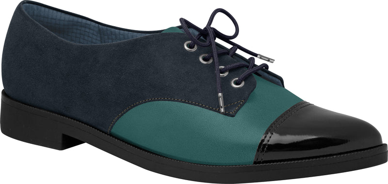 Piccadilly Ref 725025 Women Moccasin Oxford Navy