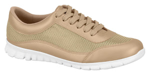 Beira Rio 7306.217-1217 Women Casual Fashion Sneaker Comfort in Golden Beige