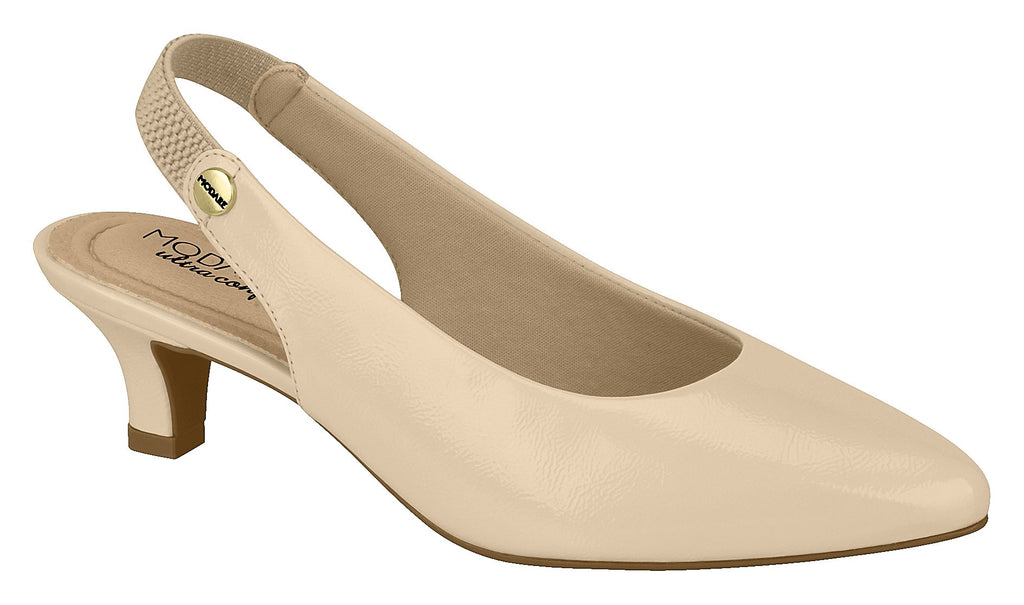 Beira Rio 7314.109 Women Fashion Slingback Shoe Comfort in Glam Nude