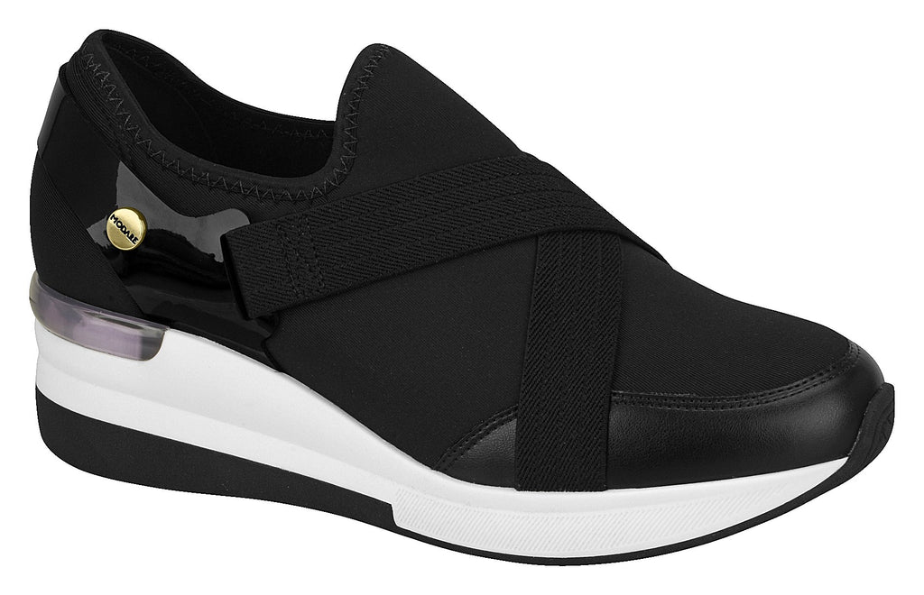 Modare 7336.111 Women Fashion Sneaker in Elastic Black