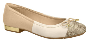 Modare 7337.103 Women Fashion Flat Shoes in Beige Cream