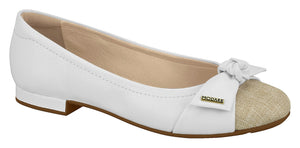 Modare 7337.105 Women Fashion Flat Shoes in Off White Natural