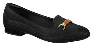 Modare 7337.106 Women Fashion Flat Shoes Moccasin in Black