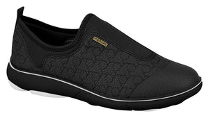Women Fashion Sneaker No Laces Modare 7339.101 in Black