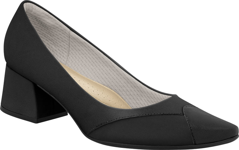 Piccadilly 745055-1035 Women Bunion Stretch Shoe Mid Heel