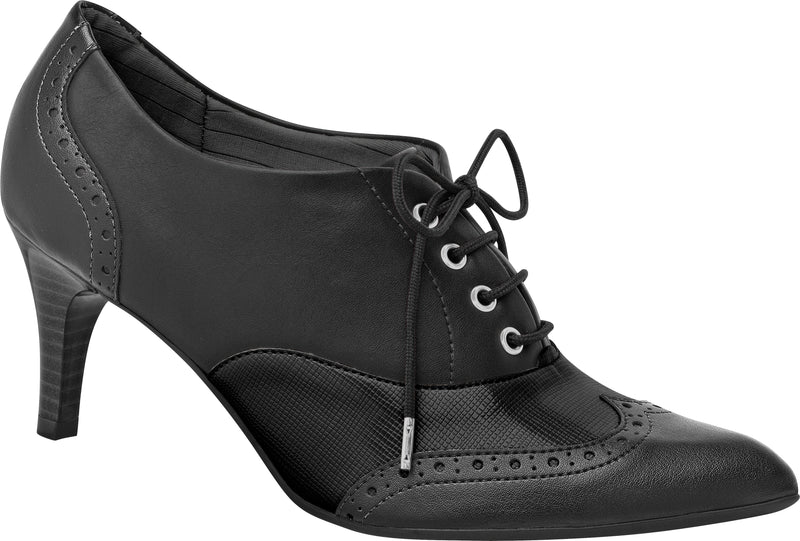 Piccadilly Ref 745030 Women Oxford Ankle Boot Black