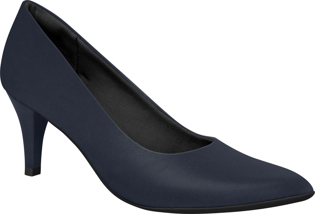 Piccadilly 745035 Women Fashion Business Classic Scarpine Heel in Navy