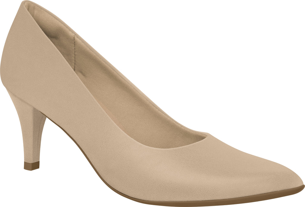 Piccadilly 745035 Women Fashion Business Classic Scarpine Heel in Ivory Color