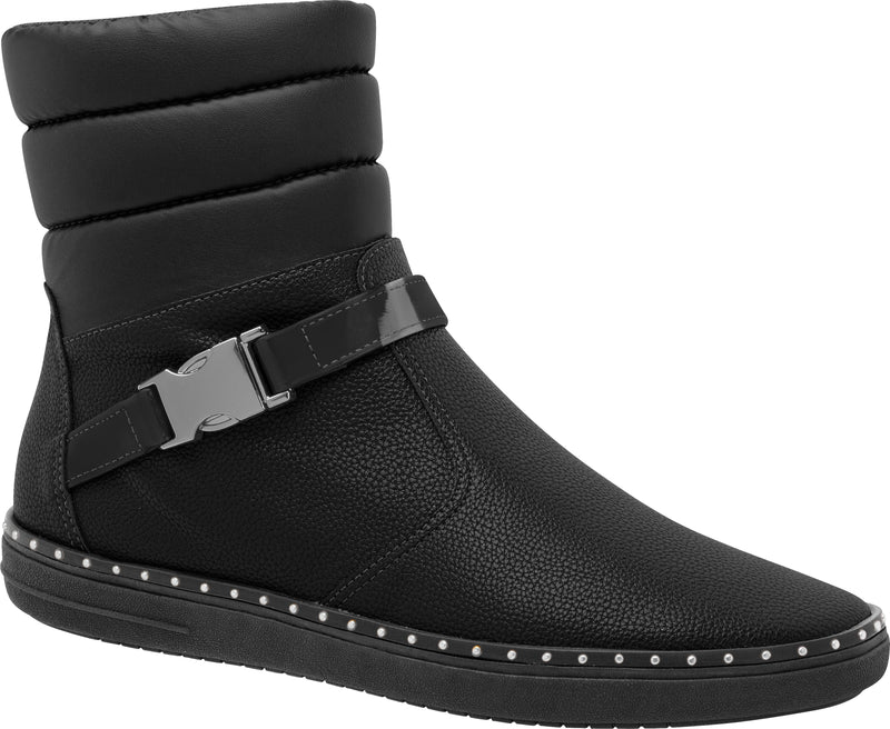 Piccadilly Ref: 964007 Women Short Black Boot With Buckle