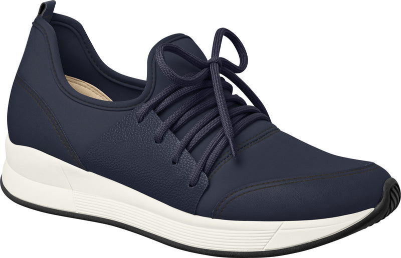 Piccadilly Ref 973027 Women Comfortable Foot Shape Sneaker Elastic Navy