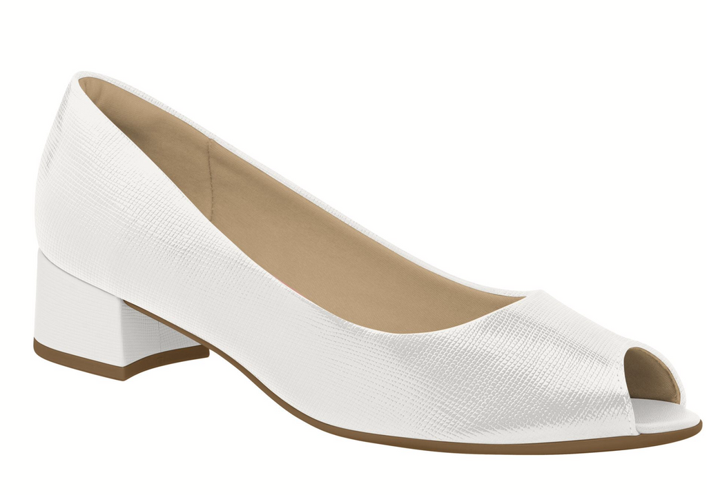Piccadilly 114001-1047 Women Low Heel Shoe White