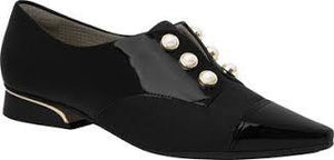 Piccadilly Ref 278003 Women Moccasin Oxford in Black