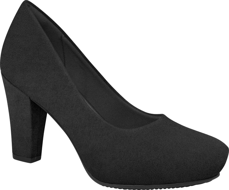 Piccadilly 693001 Women Court Business Shoe in Suede Black
