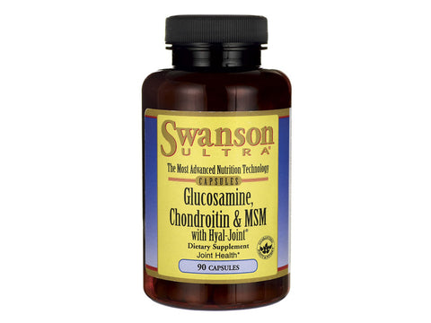 Glucosamine, Chondroitin & MSM with Hyal-Joint
