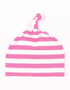 Baby Stripy One-Knot Hat