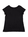 Women's Black TENCEL® Tee