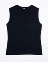 Women's Organic Raw Tank - Black & White