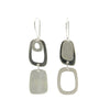 Sterling Silver Abstract Shapes Earrings - Last In Stock!