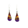 Teardrop Mosaic Earrings