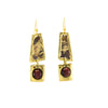 Red Tigers Eye Earrings