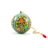 Papier Mache Ball Ornament - Gold