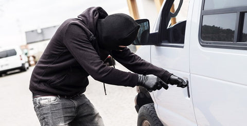 Van theft: One in four drivers targeted by thieves according to a new study from Volkswagen Commercial Vehicles