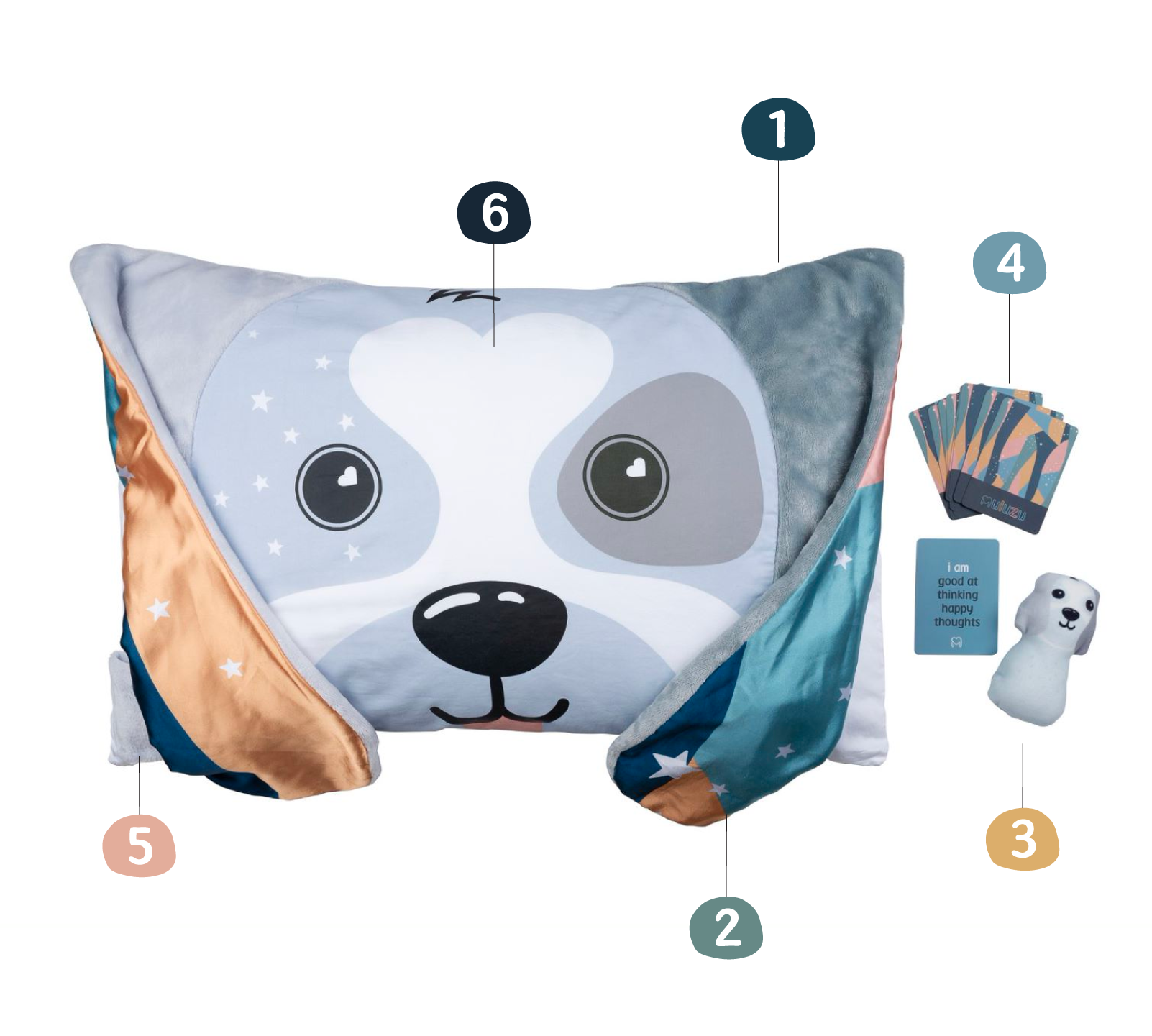 kids pillowcases features