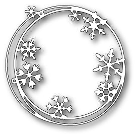 MEMORY BOX Snowflake Ring Die
