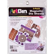 ARTBIN Magnetic Die Sheets | 3 Pack