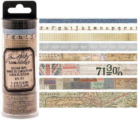 ADVANTUS CORP Tim Holtz Idea-ology Design Tape / Journey