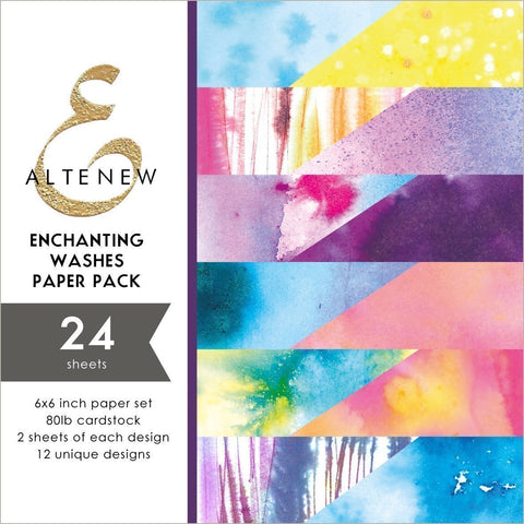 ALTENEW Enchanting Washes Paper Pack | 6x6
