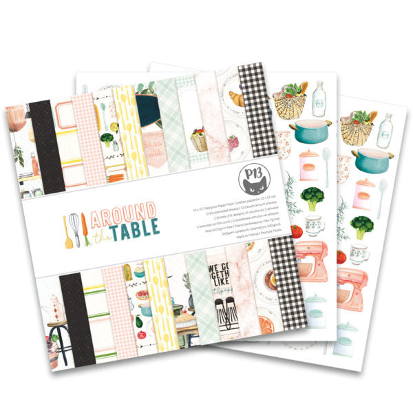 P13 Paper Pack | Around The Table | 12x12