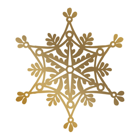 COUTURE CREATIONS Foil Stamp Die / Snowflake