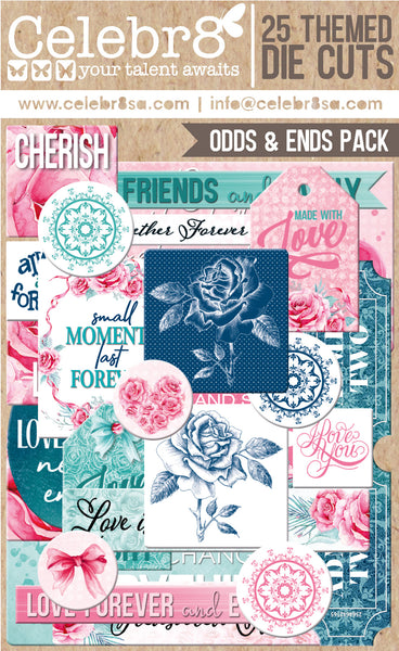 CELEBR8 Always and Forever Odds & Ends Die Cuts